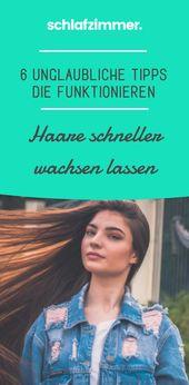 Haare wachsen schneller: 6 unglaubliche Tipps, die funktionieren 💇   – Beauty & Lifestyle ♥