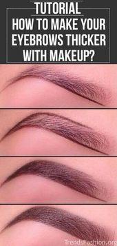 Schritt-für-Schritt-Anleitung für mehr als 20 Augenbrauen, um Ihren Look zu perfektionieren – Makeup