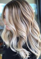 38 Amazing Blonde Hair Color Ideas for 2019 #haircolor #hairstyle #haarfarbe #fr…