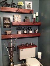 Bathroom Shelves Decorating Ideas 99 20 Cool Bathr…
