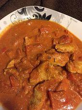Pollo indio con mantequilla del horno   – Pakistanische Rezepte