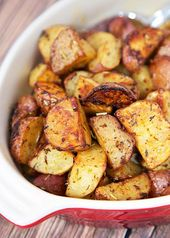 Savory Roasted Red Potatoes
