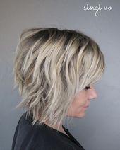 10 Kurzhaarfrisuren für Frauen – Einfache Frisuren für kurzes Haar   – Kurze Frisuren