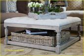 Photo of coffee table with stools and storage Collection-Coffee Table…