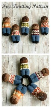 Comfort Dolls Free Knitting Pattern