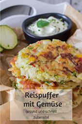 Riz Buffer avec des légumes – sain et cuit rapidement   – Essen