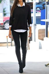 The Waspy sweater – black, #pullover #black #waspy  – outfits