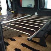 MOVOVAN Ausbau eine flexible Campinglösung für den Ford Transit Custom oder To…