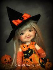 Black Cat Pumpkin Patch für Knödel