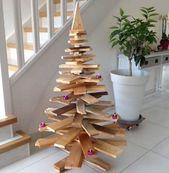 Neuer Trend seit einigen Jahren: Seinen Weihnachtsbaum in matt zu machen …   – (Presque) zéro déchet