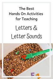 Teaching Letters and Letter Sounds | Fun and Engaging Activities That Teach Lett…