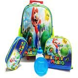 Kit Mochila Infantil Super Mario Tam G Rodinhas School Bags Magazine Voceflavio Kit Mochila Infantil Mochila Infantil Kit Mochila