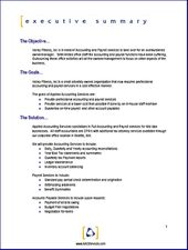 Business Proposal Templates Examples  Business Plan Sample