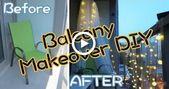 Balkon makeover diy auf ein budget | Sunny DIY – Balkon Terrasse  #balkon #balko… – Trend TRarray