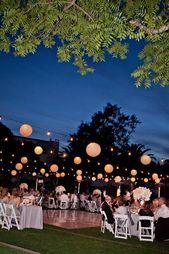 Hochzeit – Wunderschöner Hochzeitsempfang bei Nacht im Wente Vineyards Cresta Blanca Event … – Halide Altınkaya