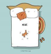 Relatable Cat Comics für Katzenbesitzer und -schätzer
