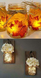 Magical DIY Hanging Mason Jar Lights (Easiest Ever