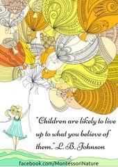 Montessori Nature: Free Phrase Artwork Printables   Montessori Quotes   Inspirational …