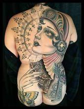 Lady Tattoo Artists We Love: Rose Hardy   – Tattoo Ideas