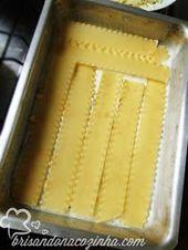 Lasanha de frango com creme de milho   – DELÍCIA!!!