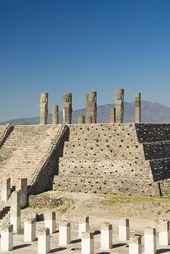 Mexico Handmade ✮ Toltec Ruins - Mexico [ MexicanConnexionF... ] #Travel #Talavera #Handmade