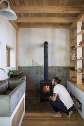 Labor of Love: Ein kleines und minimalistisches Einfamilienhaus, das von Grund auf neu gebaut wurde