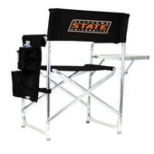 Picnic Time Oklahoma State College Black Sports activities Chair with Embroidered Brand