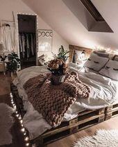 ✔71 cozy minimalist bedroom decorating ideas with special look 17