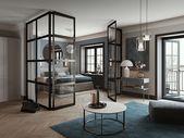 Glastrennwand in 21 Design-Vorschlägen, um Ihr Zimmer mit Stil und Originalität zu trennen – apartment.modella.club