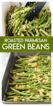 Roasted Parmesan Green Beans – Made To Be A Momma
