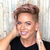 Diese 32 Undercut Frau wird dich großartig machen #Frisuren #Haarschnitt #Fri