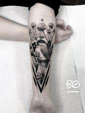 Tattoo hochgeladen von Robert Pavez | Mit dem RO. Robert Pavez • Süße Weidenmeise • …