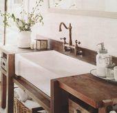 Farm style bathroom vanity – farm style bathroom …