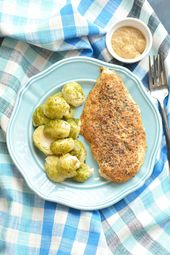 Spicy Mustard Thyme Chicken & Coconut Roasted Brussels Sprouts – Meal Prep on Fl…   – Healthy Eating