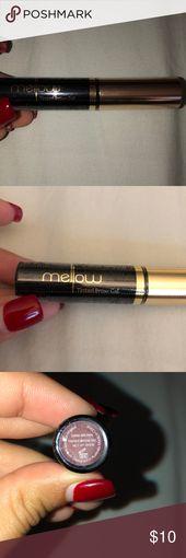 Tinted eyebrow gel Dark brown tinted eyebrow gel. …
