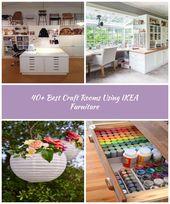 40 Best Craft Rooms met IKEA meubels 48 Craftroom 40+ Best Craft Rooms met …