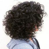 60 Styles und Schnitte für natürlich lockiges Haar   – Haar Schneiden