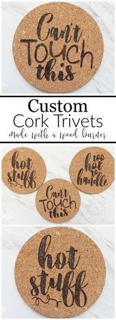How To Make Custom Cork Trivets