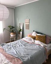 Die schönsten Schlafzimmerideen auf einen Blick – Wohnkonfetti   – Schlafzimmer
