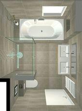 Beliebteste kleine Badezimmer-Umbauideen mit kleinem Budget im Jahr 2018