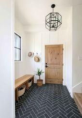 25 Entryway Mudroom Bench Design Ideas