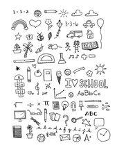 DESCARGA INMEDIATA – Conjunto de imágenes prediseñadas de días escolares – Hi Res imprimible School & Teacher D …   – Kochen