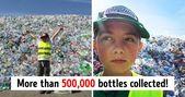 Un niño de 10 años dirige su propio negocio de reciclaje para ahorrar para la universidad y luchar por un planeta más limpio   – Advertising design