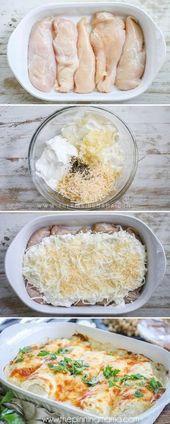 GAGNANT!!! LA MEILLEURE recette de poulet à l'ail et au parmesan – Idée repas facile – Cette recette …