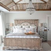 80 Simply Farmhouse Master Bedroom Design Ideas You're Dreaming of