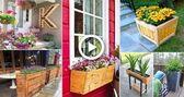 100+ Amazing DIY wooden planter box ideas | DIY Garden, #Amazing #box #DIY #diygardenboxwood…