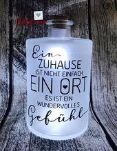 Bottlelight, Leuchtflasche, Flaschenlicht, Terassenlicht, USB Cork light, Hochzeit, Wedding, Freunde, Terassenlicht, USB Korken, Cork Light – Deko