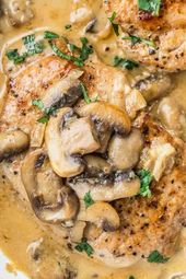 This one-pan pork chop dinner recipe is an amazing dinner made with crispy pork …