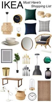 Teilen Sie einige der besten IKEA-Fundstücke auf dem Blog, um den großen Auftritt zu feiern ….