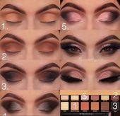 60 Einfaches Augen Make-up Tutorial für Anfänger Schritt für Schritt Ideen (Au   – Make up